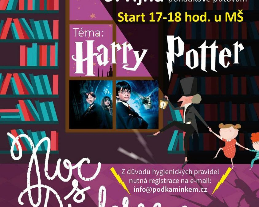Noc s Andersenem – Harry Potter